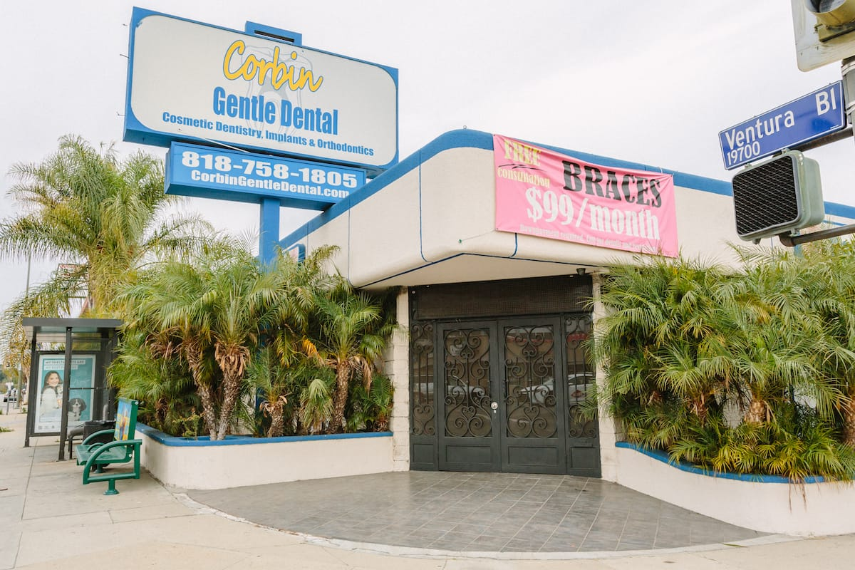 Corbin Gentle Dental in Woodland Hills exterior